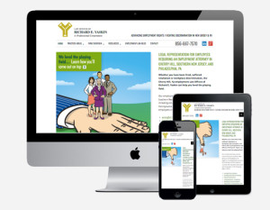 The Law Offices of Richard E. Yaskin responsive website