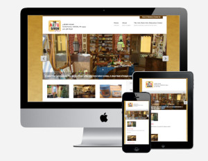 The Arts Barn Gallery Responsive Website