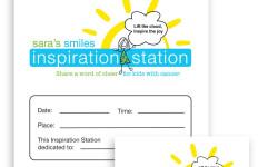 Sara's Smiles Foundation - Inspiration Station Branding