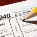 Tax time - 1040 income tax form