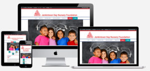 Responsive website design for JenkintownDayNursery.org