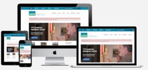 Cheltenham Center for the Arts Website redesign 2017